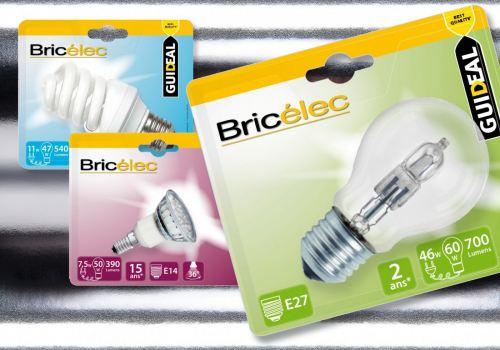 Bricomarché – Identité ampoules Bricélec