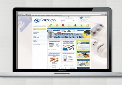 Grosseron – Optimisation identité web