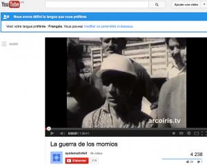 """La voix de Miguel Herberg à la première minute du film """"La guerra de los momios"""" (en RDA, premier film de H&S sur le Chili, """"Der Krieg der Mumien"""" est sorti en mars 1974 ) : 0 mn. 45 sec. à 1mn. 20 sec. : – Para Ud, qué es un Momio ? – ... Qué ? – ... Un momio, qué es ?"""
