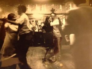 Mars 1973, Santiago, Black & White. Photo d'Isabel Santi, avec les conseils avisés de Peter Hellmich.