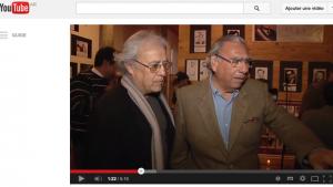 Septembre 2013 : Freddy Alonso Oyanadel (à gauche de la photo), Jorge Soria, maire d'Iquique (à droite), anciens prisonniers à Pisagua, inaugurent une exposition où les photos de Miguel Herberg apportent un complément précieux à la documentation réunie par Freddy Alonso.