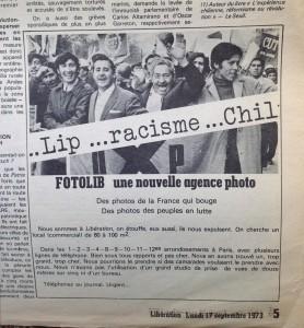 Photo, J. N. Darde; Santiago, une manifestation de l'Union populaire en août 1972.