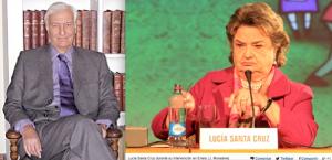 Aujourd'hui, Juan Luis Ossa et Lucia Santa Cruz.
