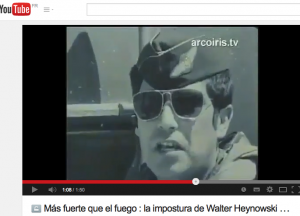 """Sur Youtube. Trois heures après que le général Leigh lui a refusé l'autorisation de rencontrer les pilotes : Miguel Herberg : """"Nos puede decir si ha participado a los combates del 11 de septiembre ? Le pilote : """"Si, como todos los pilotos del groupe 7"""". (https://www.youtube.com/watch?v=yhhtVezc2wc)"""