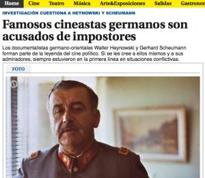 Dans El Pais (Uruguay), un article de Guillermo Zapiola, critique de cinéma et collaborateur de la Cinemateca Uruguaya.