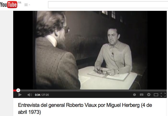 Entrevista del general Viaux por Miguel Herberg 4-04-1973