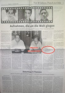 Quarante après, 11 septembre 2013 : à la suite de l'interview de Walter Heynowski, le correspondant à Madrid du Neues Deutschland, Ralf Streck, présente une version plus proche de la vérité, celle de Miguel Herberg.