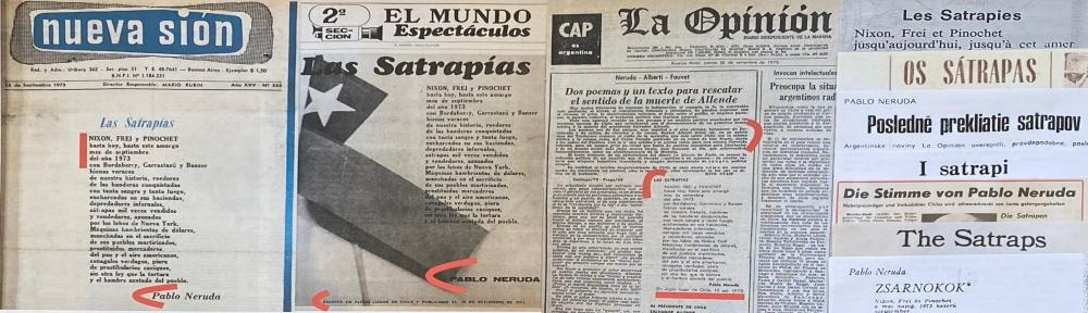 — Pablo Neruda a-t-il été empoisonné pour des vers qu'il n'a pas écrits ? . . . . – ¿ Fue Pablo Neruda envenenado por versos que no escribió ?