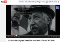 4-Interview de Luis Corvalán par Miguel Herberg (Batalla de Chile, 2)