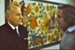 3 - Peter Hellminch et l'Amiral Ismael Huerta (janvier 1974). Photo prise par Miguel Herberg