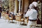 2 - Peter Hellmich dans la maison de l'ex-Pdt Gabriel Videla (mars 1973). Photo prise par Miguel Herberg